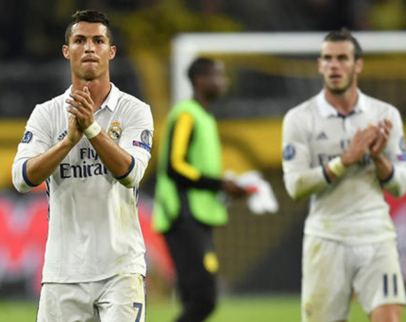 Ronaldo scores but Dortmund rallies in latest Madrid setback