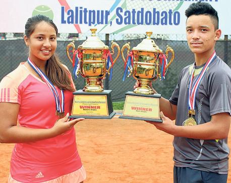Samrakshak, Mayanka win singles titles