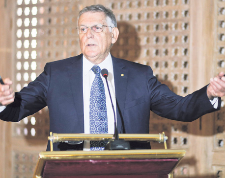 Nepal should invest in young entrepreneurs: Nobel laureate Shechtman