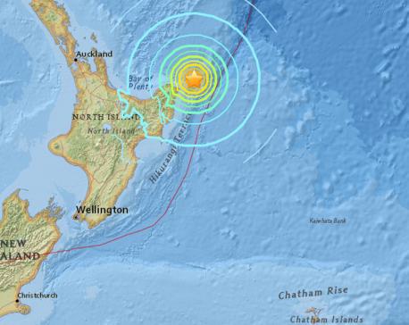 Strong mag-7.1 quake strikes New Zealand but no major damage