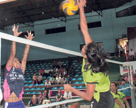 APF and Police to vie for volleyball title