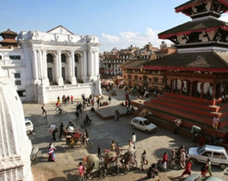 Reconstruction at Basantapur world heritage site starts