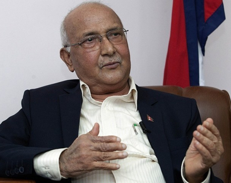 Constitution can't be amended for 'others': Oli