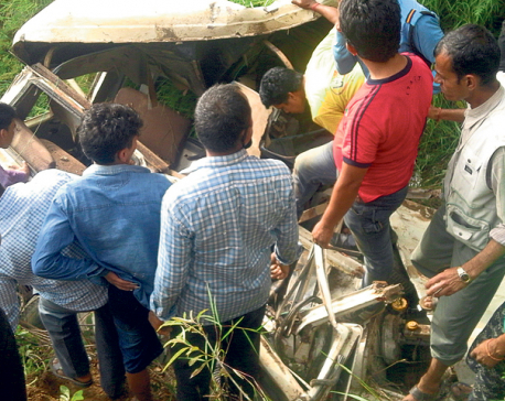 11 killed, six injured in Arghakhanchi jeep accident