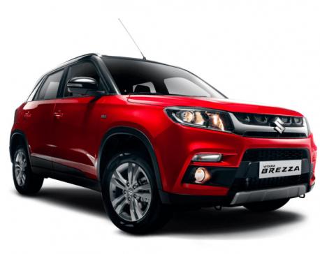 Suzuki Vitara Brezza hits Nepali roads