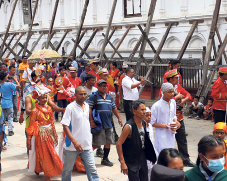 Going all out on Gaijatra