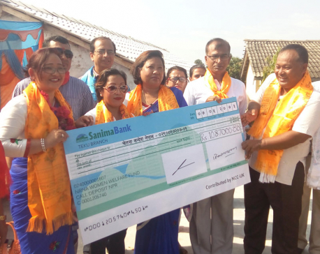 NRN Women's Forum London donates Rs. 1.87m to orphanage