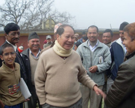 Bijukchhe bats for earliest election of local bodies