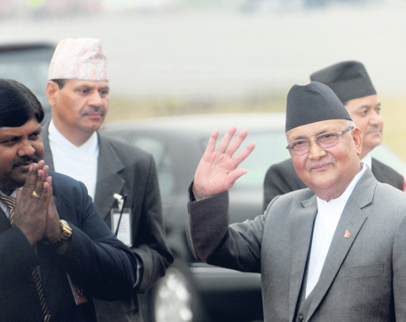 Oli sees conspiracy for constitutional vacuum