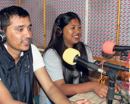 Fikkal FM spreads love of Nepali
