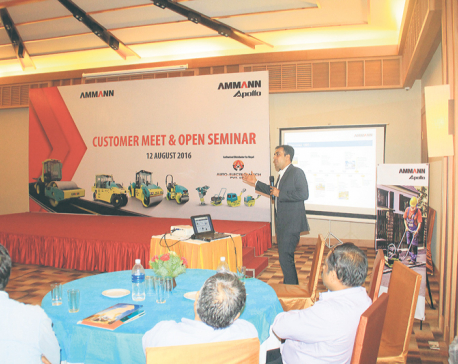 Seminar held on infrastructure building
