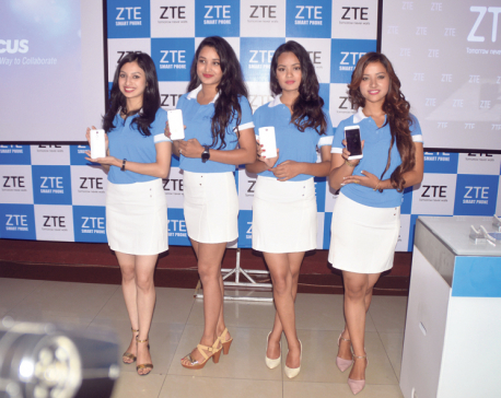 ZTE makes a foray into Nepali smartphone market