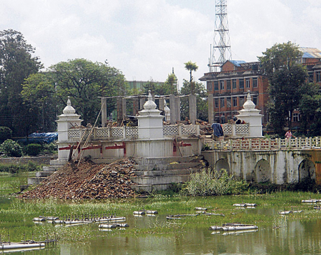 Balgopaleshwar Temple reconstruction suspended