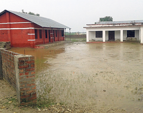 Floods render schools in Banke unfit for running classes