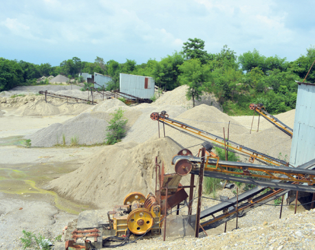 Ministry of Industry drafts criteria for excavating sand and aggregates