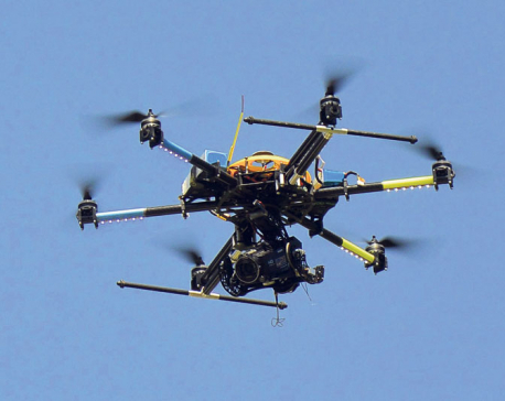 Singaporean, Spanish nationals held for flying drone camera