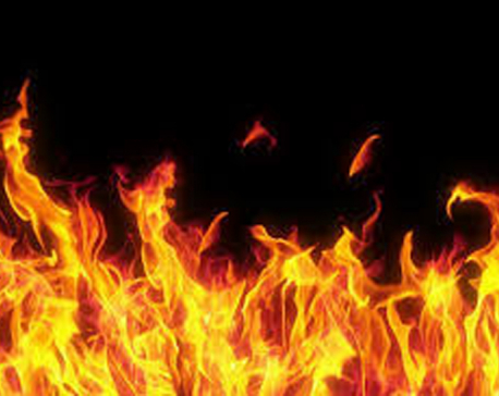 Fire breaks out in Bhojpur Bazaar