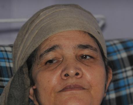 Sit-in held calling for saving Gangamaya's life