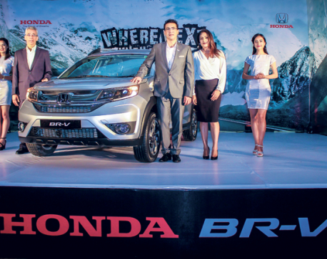Honda BR-V vrooms its way into Nepal