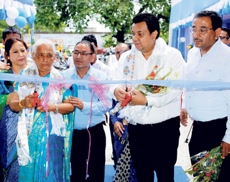 Hyundai opens new showroom in Birtamod