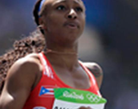 Rams' Quinn heads to Rio watch sister in 100-meter hurdles