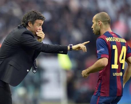 Barcelona's Javier Mascherano to miss Liga opener