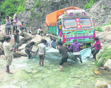 Karnali Highway blues: A narrow road plagued by landslides