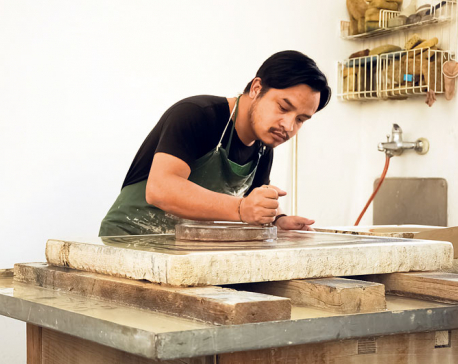 An artist's dedication to revive the art of lithography