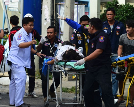 At least eight blasts hit three cities within hours