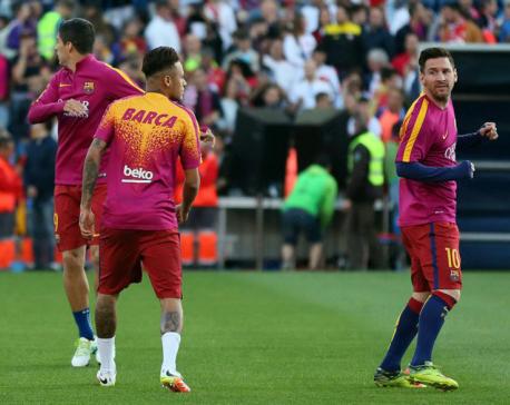 Barca trio reunited, Ronaldo returns for Real
