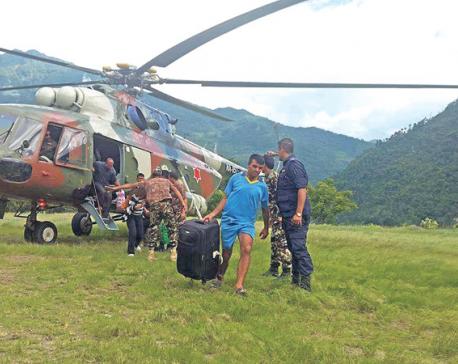 NA rescues 58 victims of Bhotekoshi flood