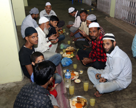 Rautahat Muslim community celebrating Edi-al-Fitr with merriment
