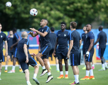 The Latest: France seeks healing final victory vs Portugal