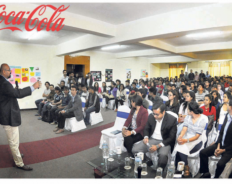 Coca-Cola holds interaction with students