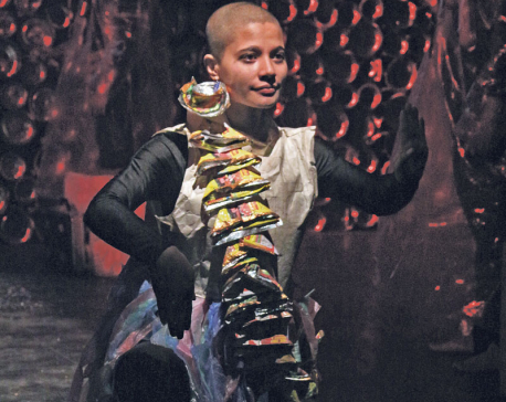 Malini staged at Indo Nepal Int'l Theater Festival