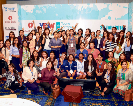 Young Entrepreneurs Summit Women organized