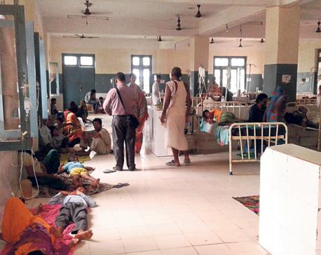 Sagarmatha Zonal Hospital ailing