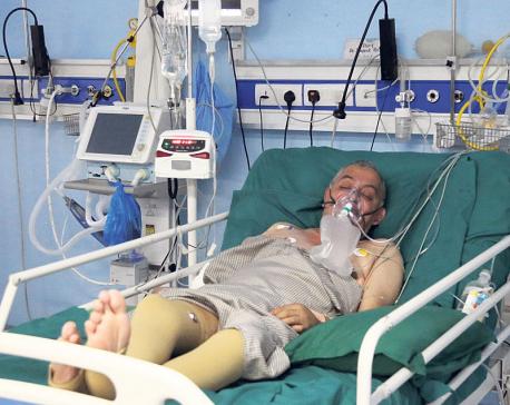 Koirala's condition improving