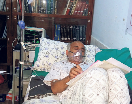 Dr KC interrupts hunger strike on 12th day