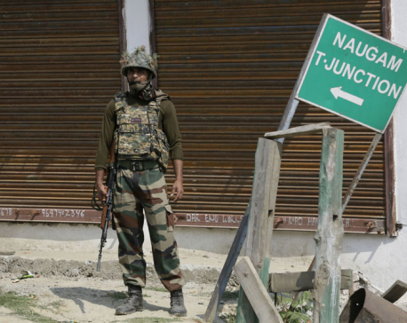 Indian army says it killed 3 suspected rebels in Kashmir