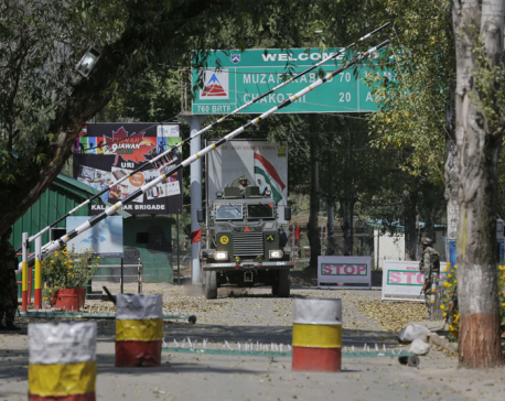 Indian police say gun battle has ended at Kashmir army camp