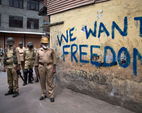 Kashmir newspaper banned to prevent anti-India violence
