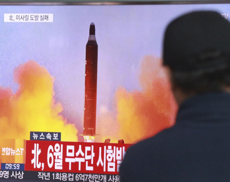 US, S. Korea say latest N. Korea missile launch fails