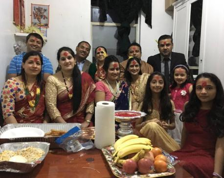 Nepali Americans celebrate Dashain