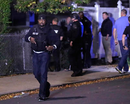 2 Boston police officers shot, wounded; suspect dead