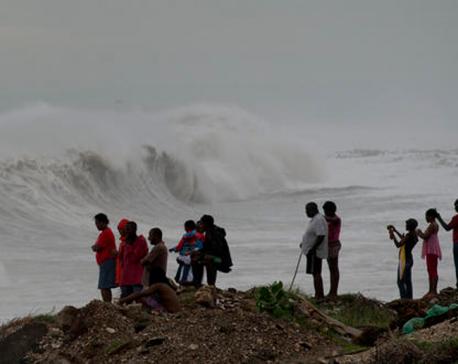 Hurricane Matthew makes landfall in vulnerable Haiti
