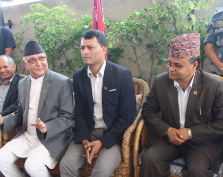 Oli calls for implementing constitution in time