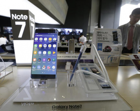 Samsung temporarily halts Galaxy Note 7 output