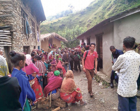 Jajarkot NFC depot runs out of rice