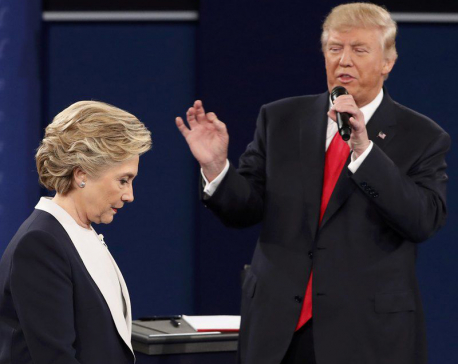 Trump assails Bill Clinton, vows to jail Hillary Clinton if he wins White House